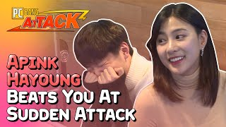 Apink Hayoung Beats the Sh*t Out of You [PC bang Attack] • ENG SUB • dingo kdrama