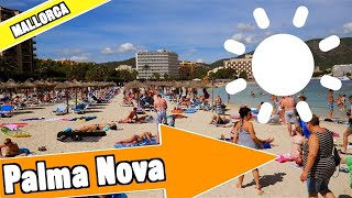 Palma Nova Mallorca Spain: Tour of beach and resort