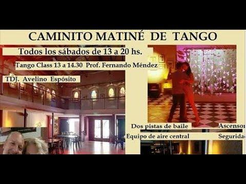 Hermoso lugar tienen los bailarines  del tango con esta milonga Radio Bar