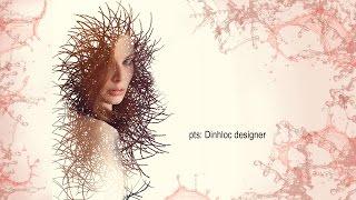 Easy cool portrait photo effects || Hướng Dẫn Tạo Ảnh Độc Đáo Với Công Cụ Brush Trong Photoshop