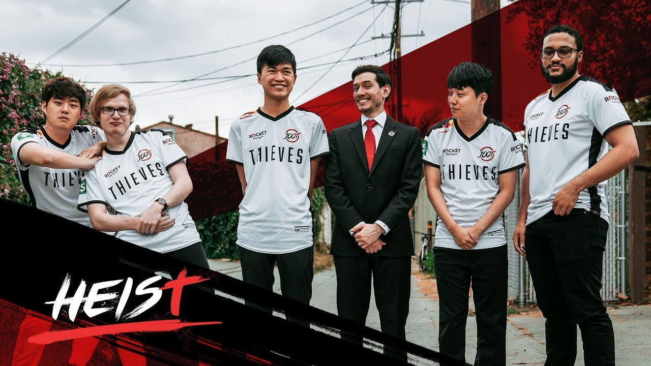 A FRESH START FOR 100 THIEVES LEAGUE OF LEGENDS   The Heist - YouTube