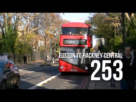 [London Bus] Ride Route 253 from Euston to Hackney Central within 6 mins!