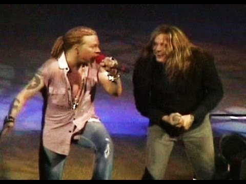 GUNS-N-ROSES Ft. Sebastian Bach - My Michelle LIVE 12-17-2006
