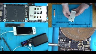 Trying to FIX a Faulty iPhone 5S that fell down the TOILET!!!