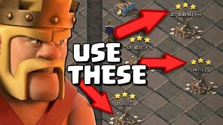 BEST Attacks for the CLAN WAR LEAGUES in Clash of Clans | Town Hall 12 Attack Strategy - CoC!