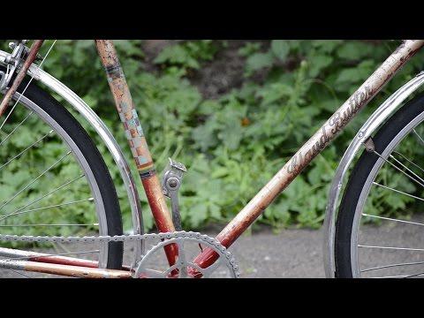 "1956 Claud Butler - Vintage Bicycle ""Rustoration"""