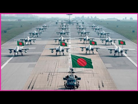Bangladesh Air Force Strength 2021 ( all Weapons)