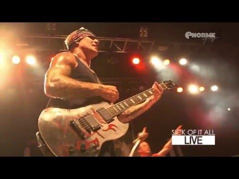 Sick Of It All - Live Transbordeur [Lyon] 2015 (Full Show HD)