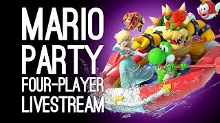 MARIO PARTY SWITCH LIVESTREAM: Outside Xtra and Xbox Play Super Mario Party LIVE @ Server