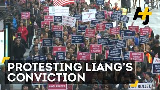 Chinese-Americans Protest Liang Conviction, Calling It Scapegoating