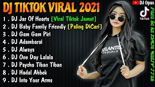 Download lagu DJ TIKTOK TERBARU 2021 - DJ JAR OF HEART FULL BASS TIK TOK VIRAL REMIX TERBARU 2021