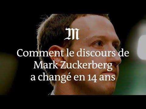 Comment le discours de Mark Zuckerberg a changé en quatorze ans