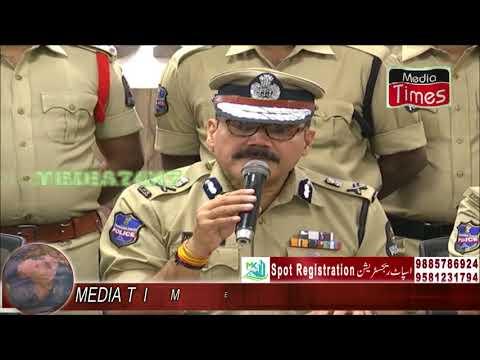 Most wanted offender Jayesh Ravji Sejpal  of Gujarat held-Sri.Anjani Kumar,IPS,CP Hyderabad