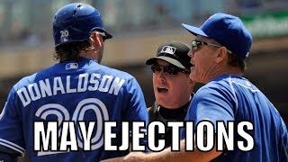 MLB | 2016 May Ejections ᴴᴰ