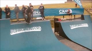 the skateboarding 2015 boardmasters dannie carlsen edit