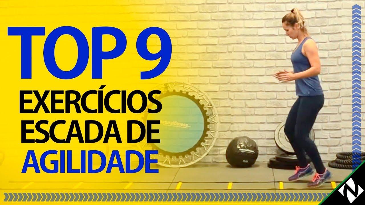 Top 9 Exercicios Escada De Agilidade Treino Funcional Agility