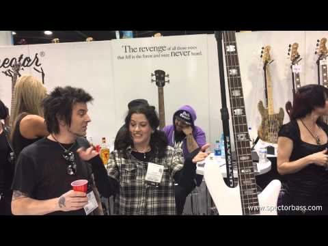 Mike Starr (Alice in Chains) EURO4LX™ Spector Bass Unveiling NAMM 1.24.15