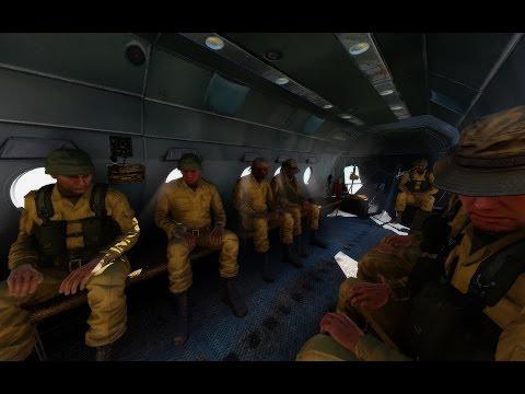 ArmA 3 Presets: Realistic - Final тест, карта Bukovina Затенение HBAO+