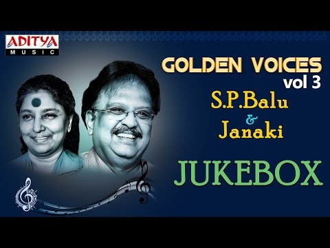 Golden Voices - S.P & Janaki Hit Songs || Jukebox (VOL-3)