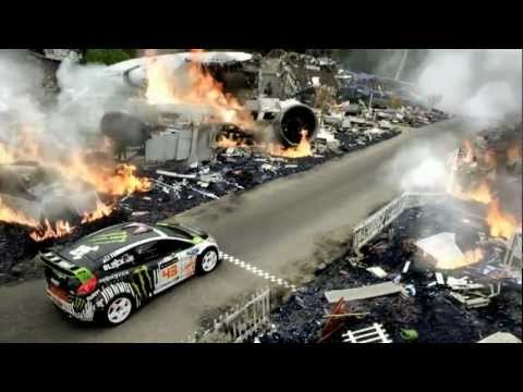 KEN BLOCK GYMKHANA 4 MONSTER ENERGY 43 RALLY USA