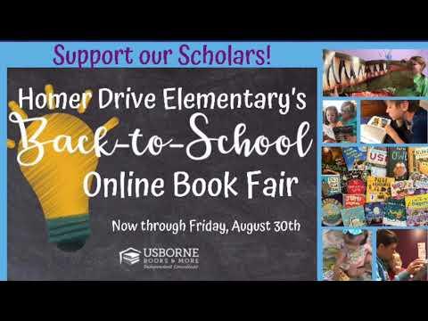 Homer Drive Elementary Online Book Fair