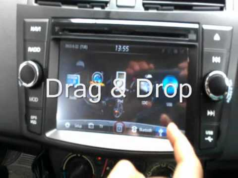 Sonyx In Dash Multimedia Amp Navigation System For Swift