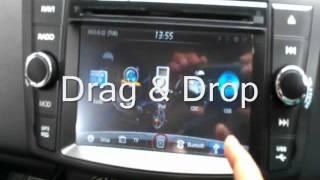 SONYX In Dash Multimedia & Navigation system for Swift / DZire / Ertiga