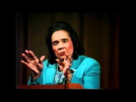 Ms. Coretta Scott King at Stanford on November 6th, 1986