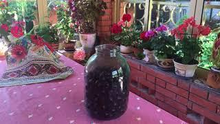вишневый ликер в домашних условиях   Простой рецепт видео 18