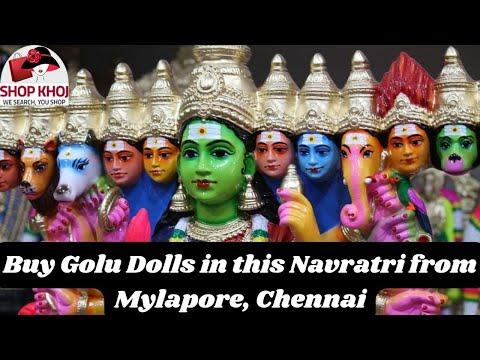 Navratri special- Golu Dolls Shop in Mylapore Chennai