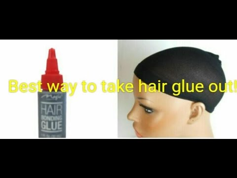 Best easiest way to remove hair glue youtube best easiest way to remove hair glue pmusecretfo Images
