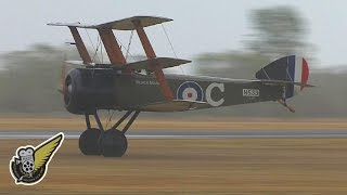 The Vintage Aviator's Sopwith Triplane puts on a terrific display a...