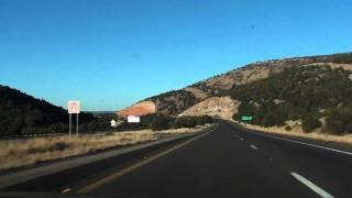 on my way to las vegas nv driving on az i 40 w part 3