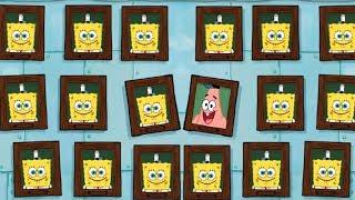 Spongebob's Game Frenzy - Make A Snow Angel Mini Games - Nickelodeon Kids Games