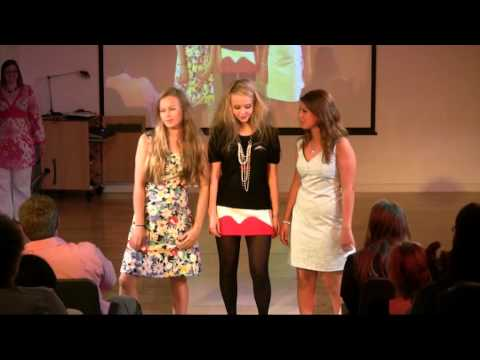 Stamford High School Fashion Show 2010 Part 1