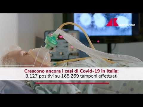 Covid Italia, contagi ancora in salita