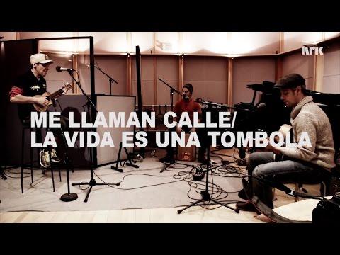 "** Manu Chao ** LIVE "" Me llaman Calle + La Vida Tombola "" NRK Radio Oslo December 2016"