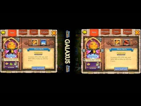Castle Clash-Solo Revite PD VS Solo Zerk PD (Timed Challenge)
