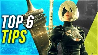 NIER AUTOMATA Top 6 Tips Every Player Should Know | Nier Automata Tips (No Spoilers)
