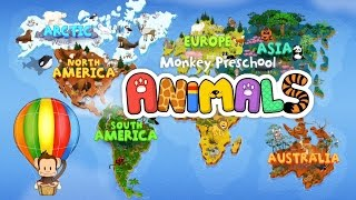 Monkey Preschool Animals