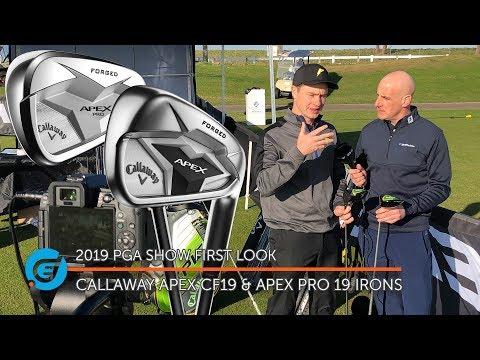 CALLAWAY APEX CF19 AND APEX PRO 19 IRONS