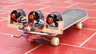 How to Make Air Skateboard at Home