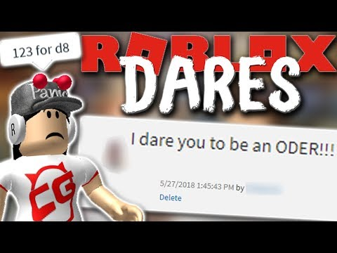 DARES ON ROBLOX!!!