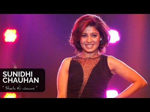SHEILA KI JAWANI- Sunidhi Chauhan Live In Sri Lanka 2014