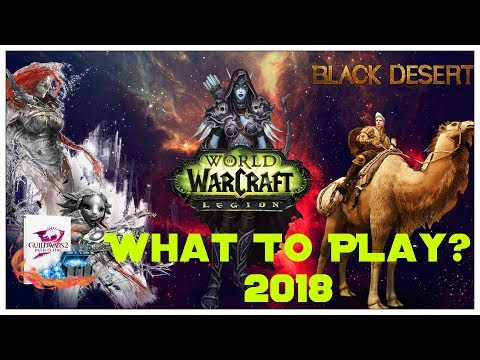 What MMORPG to play in 2018 ? - Black Desert Online - Guild Wars 2 or World of Warcraft thumbnail