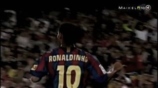 Ronaldinho Gaúcho • This was it • Barcelona, 2003 till 2008 • by MaikelR10