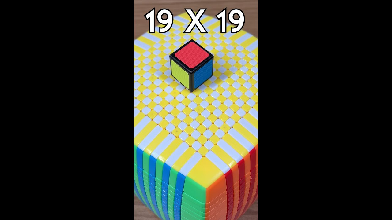 Download EVERY RUBIK'S CUBE FROM 1x1 TO 19x19
