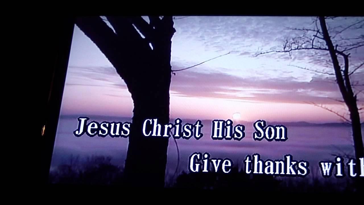Give Thanks (Christian Gospel Song) at Karaoke Duet 35 Manhattan New York