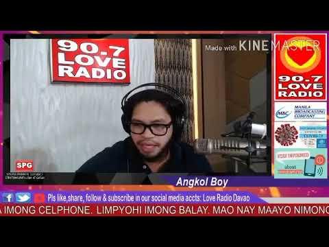 Love Radio Davao Fm 90.7 April 25,2020