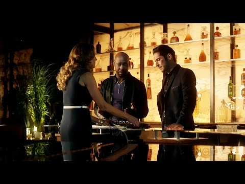 Lucifer 2x17 Lucifer Amenadiel Charlotte & the Book - Maze & Chairman Season 2 Episode 17